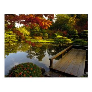 Arboretum, japanischer Garten, Seattle, Postkarte