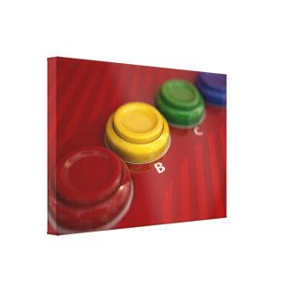 Arcade-Maschinen-Kontrollen-Platte Leinwanddruck