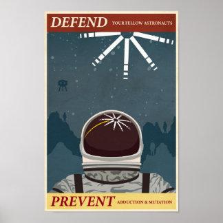 Arcade-Spielpropagandaplakat zehntes in einer Poster