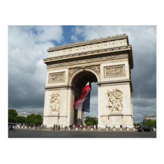 Arch de Triumph Postkarte