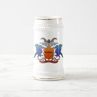 Archaeopteryx-Wappen - kundengerecht Bierglas