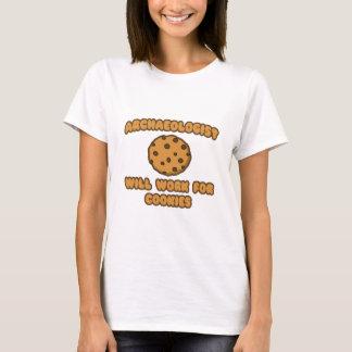Archäologe. Arbeitet für Plätzchen T-Shirt