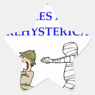 Archäologie Stern-Aufkleber