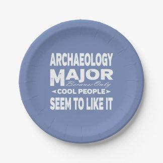 Archäologie-Uni-Major nur coole Leute mögen es Pappteller