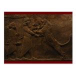 Archäologische Entdeckung: Assyrian Postkarte