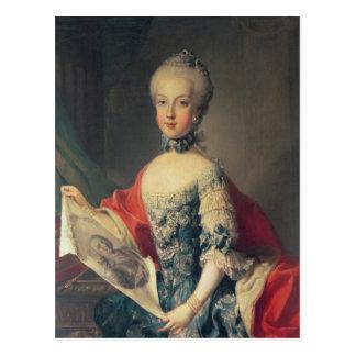 Archduchess Maria Carolina Postkarte