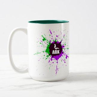 ARCHE Kaffee-Tasse Zweifarbige Tasse