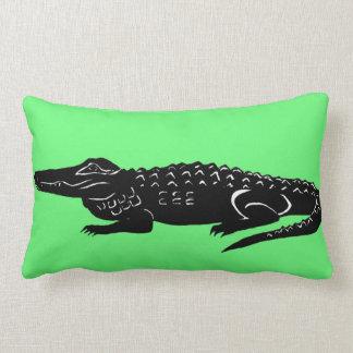 Archibold der amerikanische Alligator Lendenkissen