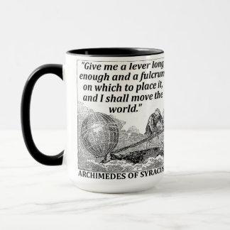 Archimedes-Hebel Tasse