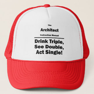 Architekt Truckerkappe