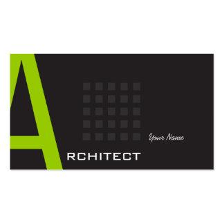 Architekt Visitenkartenvorlage