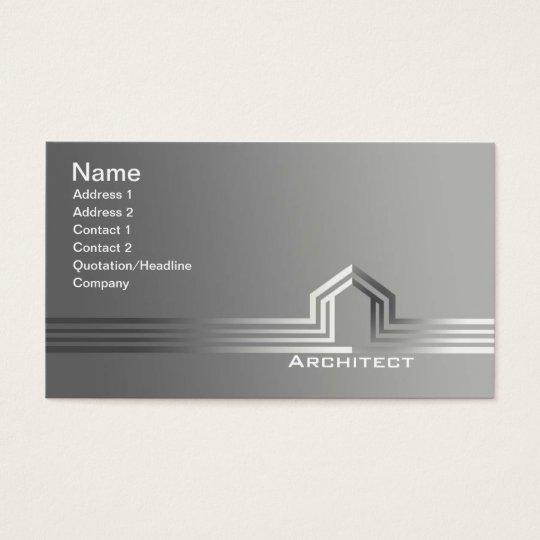 Architekten visitenkarten visitenkarte zazzle for Innenarchitekt beruf