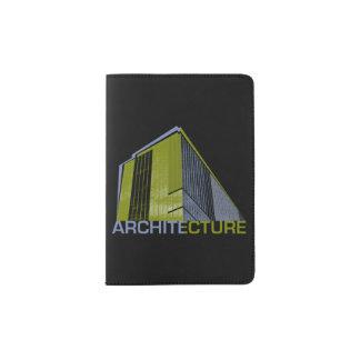 Architektur-Grafik Passhülle