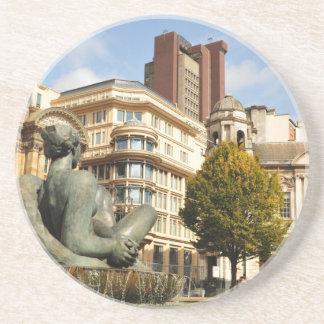 Architektur in Birmingham, England Getränkeuntersetzer