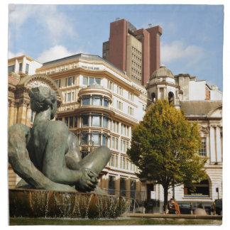 Architektur in Birmingham, England Serviette