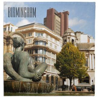 Architektur in Birmingham, England Stoffserviette
