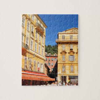 Architektur in Nizza, Frankreich Puzzle