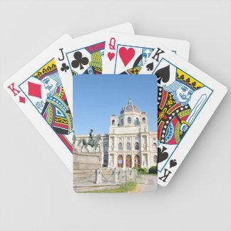 Architektur in Wien, Österreich Bicycle Spielkarten