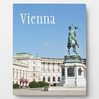 Architektur in Wien, Österreich Fotoplatte