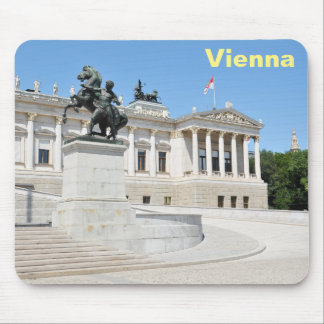 Architektur in Wien, Österreich Mousepad