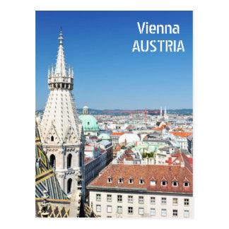 Architektur in Wien, Österreich Postkarte