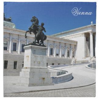 Architektur in Wien, Österreich Serviette
