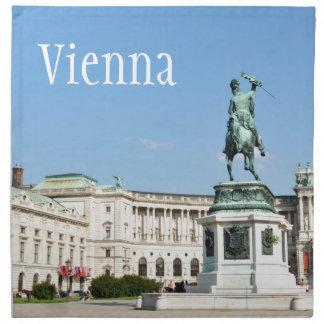Architektur in Wien, Österreich Stoffserviette