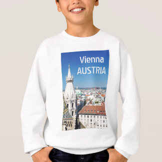 Architektur in Wien, Österreich Sweatshirt