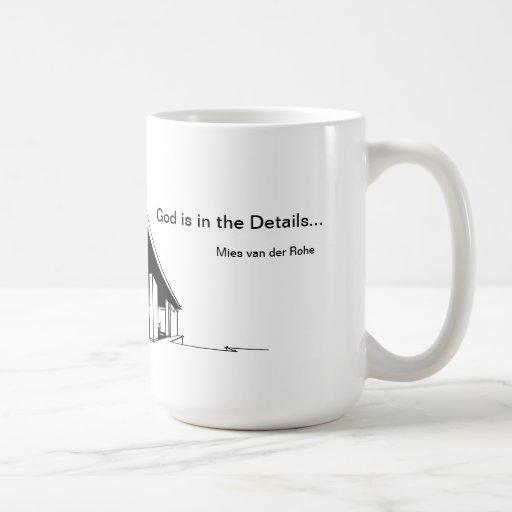Architektur: Mies van Der Rohe Kaffee Tasse