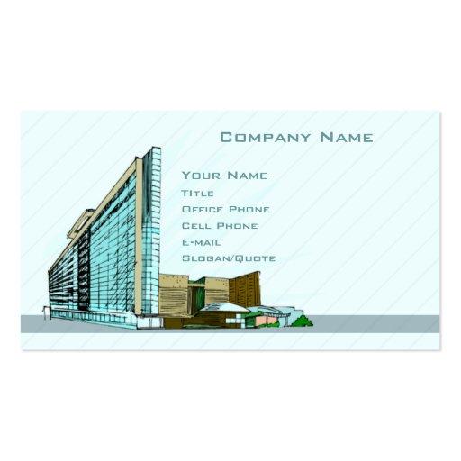 Architektur Visitenkarten