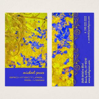Architekturwiedergewinnungs-Visitenkarten Visitenkarte
