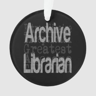 Archiv-Bibliothekar Extraordinaire Ornament