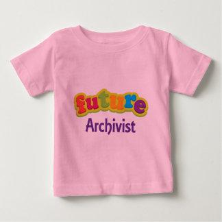 Archivar (Zukunft) für Kind Baby T-shirt