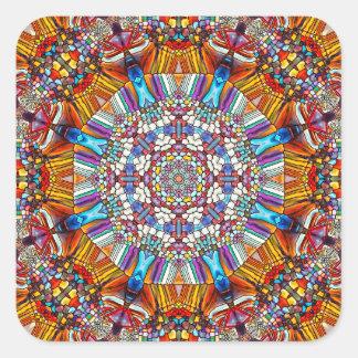 ard11 quadratischer aufkleber