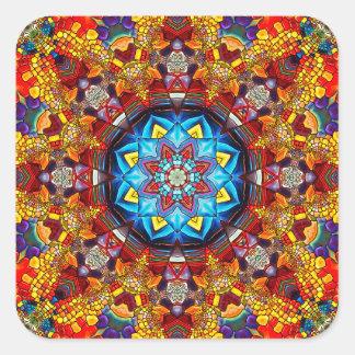 ard9 quadratischer aufkleber