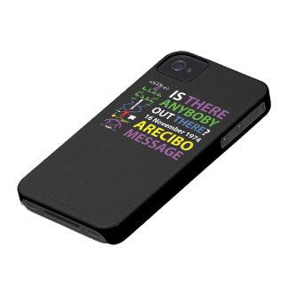 ARECIBO MESSAGE iPhone 4 Case-Mate HÜLLE