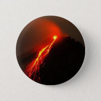 ARENAL-VULKAN, Costa Rica Runder Button 5,7 Cm
