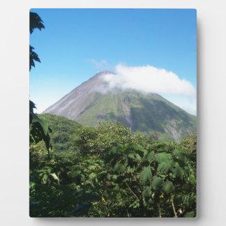 Arenal-Vulkan Fotoplatte