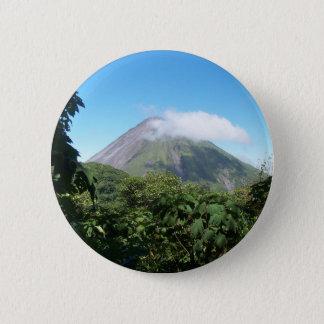 Arenal-Vulkan Runder Button 5,7 Cm