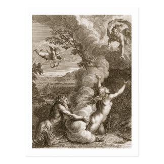 Arethusa übte durch Alpheus aus und machte zu ein Postkarte