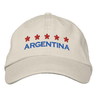 ARGENTINA - 001 BESTICKTE BASEBALLKAPPE