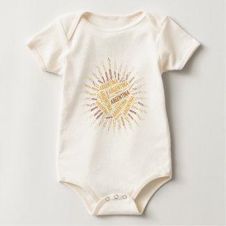 Argentinien Baby Strampler