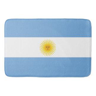 Argentinien-Flagge Badematte