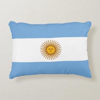 Argentinien-Flagge Dekokissen