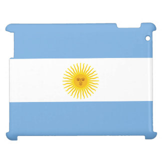 Argentinien-Flagge iPad Hülle