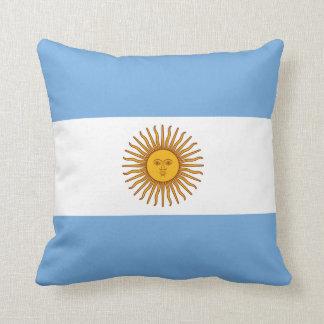 Argentinien-Flagge Kissen