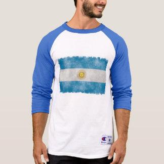 Argentinien-Flaggegrunge-Art-T - Shirt