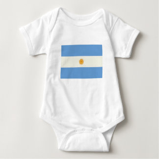 Argentinien-Flaggen-Ölgemälde Baby Strampler
