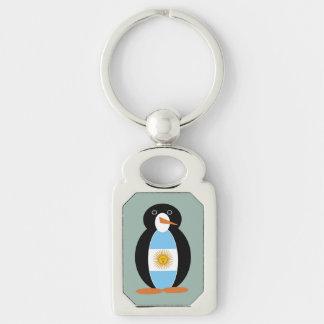 Argentinien-Pinguin Schlüsselanhänger