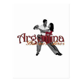 Argentinien Postkarte